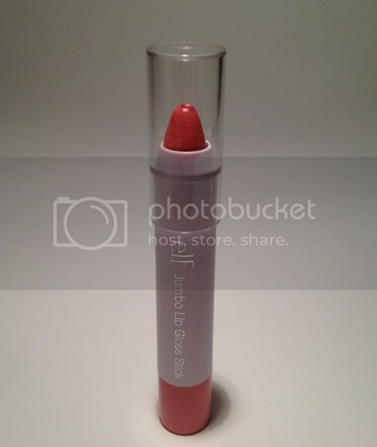 e.l.f. Jumbo Lip Gloss Stick in Pink Umbrellas Review, Swatches &#038; Photos 