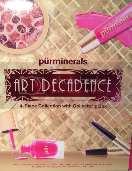 Pur Minerals Art Decadence Collection Review, Swatches &#038; Photos 