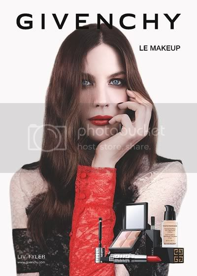 Liv Tyler for Givenchy Beauty Fall-Winter 2011