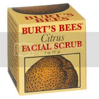 Burt's Bees Citrus Facial Scrub Review